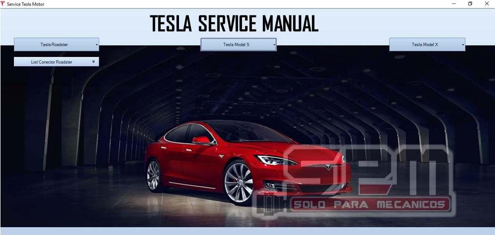Tesla Workshop Repair Manuals
