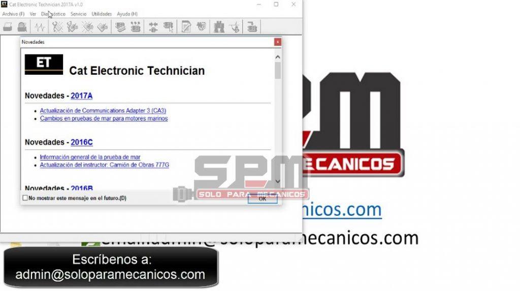 Caterpillar Electronic Technician ET 2017A