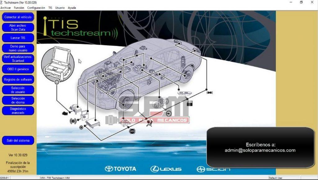 Toyota TIS TechStream