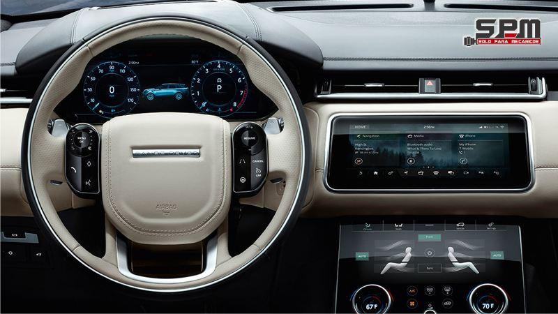 Range Rover Sport_2018 Tablero