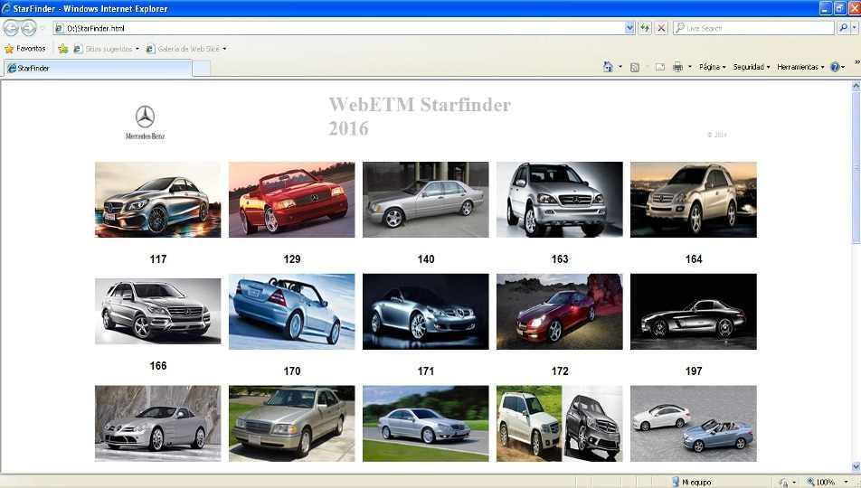 Mercedes Benz Starfinder WebETM