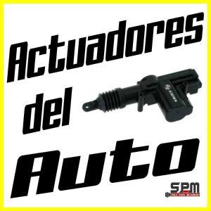 Actuadores del auto