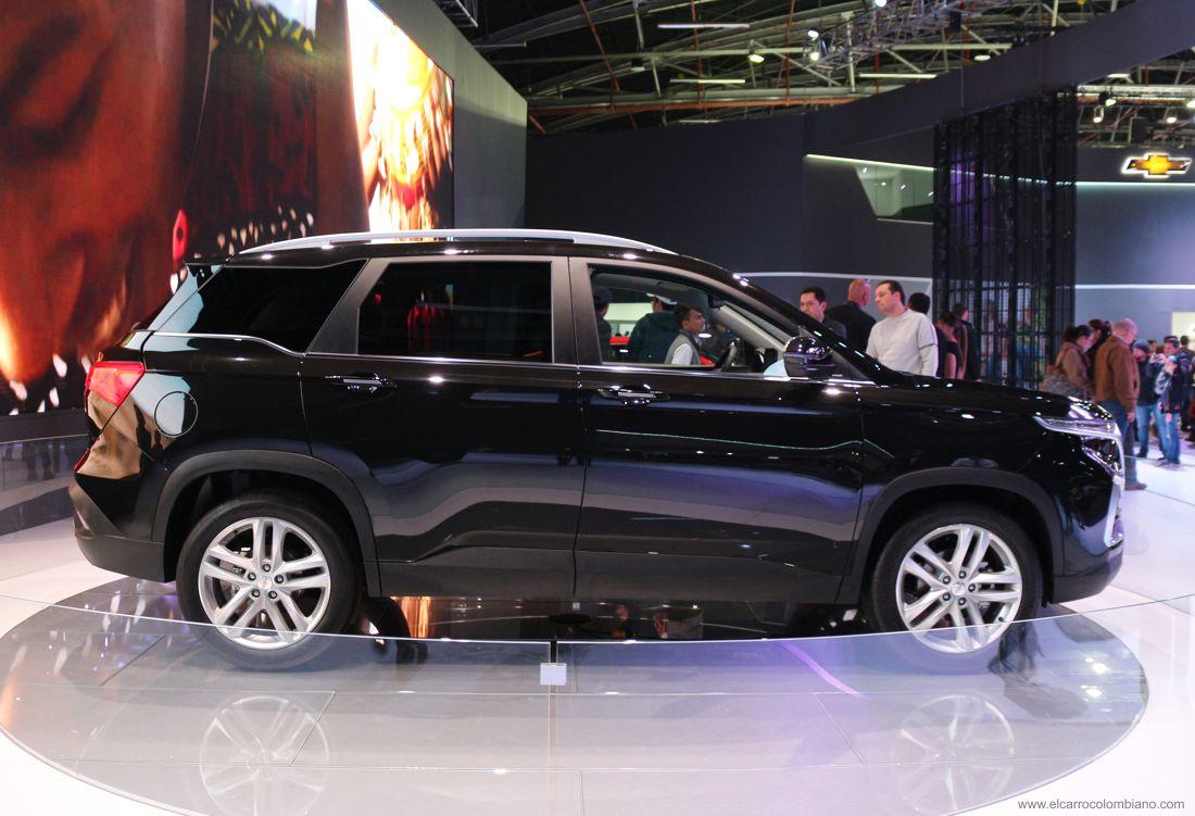 Chevrolet Captiva 2019 externa