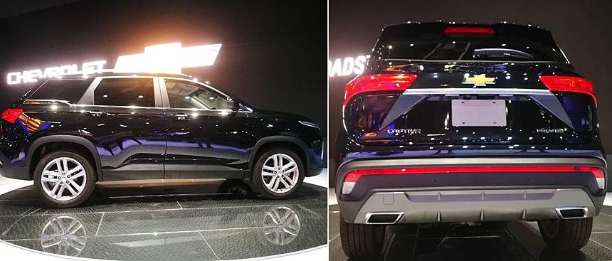 Chevrolet Captiva 2019 exterior