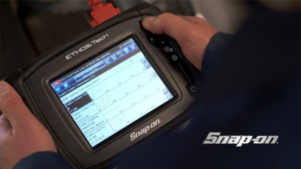 Scanner Snap On Ethos Edge interna