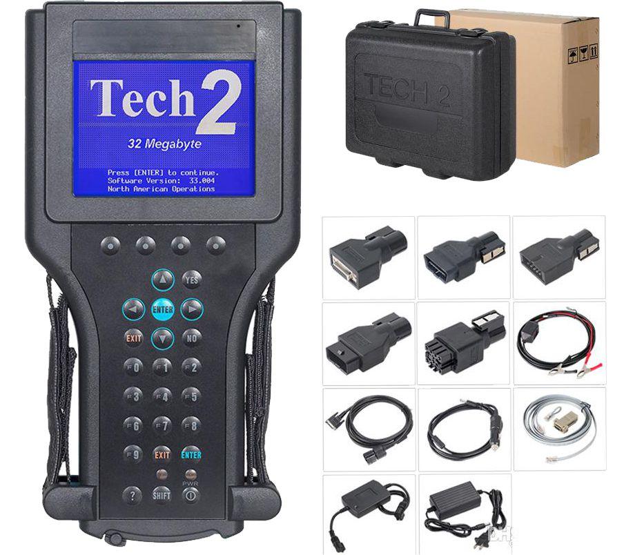 Scanner Tech 2 características