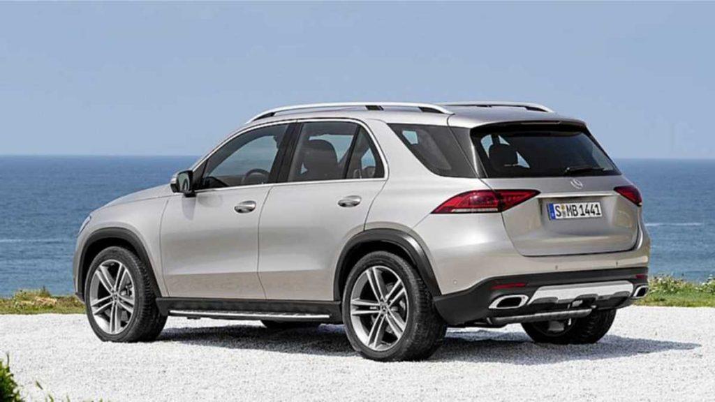 Mercedes Benz GLE 2019 Externo parte trasera