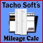 TachoSofts Mileage Calc