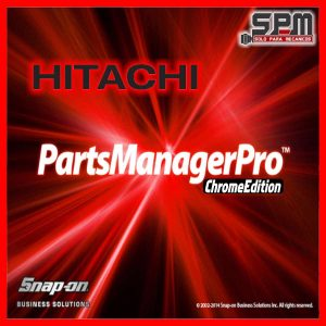 Hitachi PartS ManagerPro